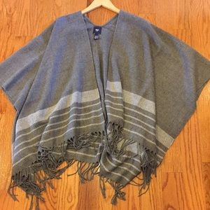 GAP Factory open front poncho